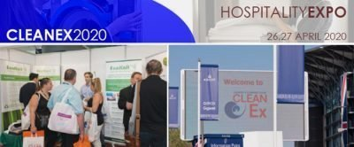 hospitality expo trade show cleanex montage 2020