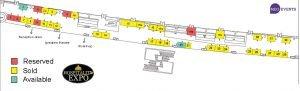 Hospitality Expo 2021 Floorplan.